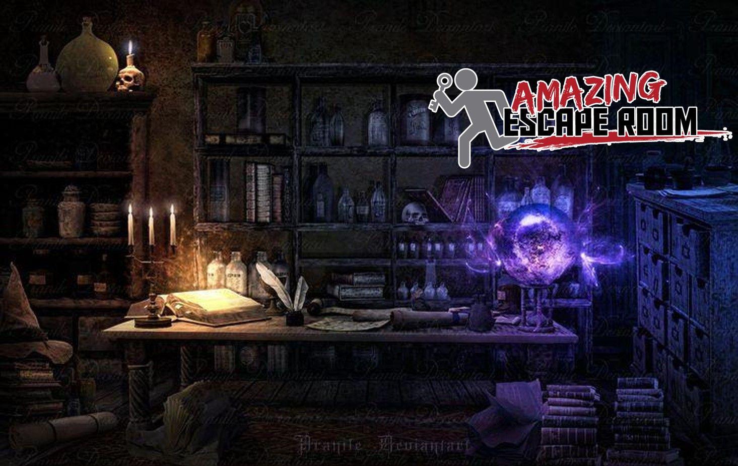 The sorcerer 39 s secret live escape game at amazing escape for Secret escape games
