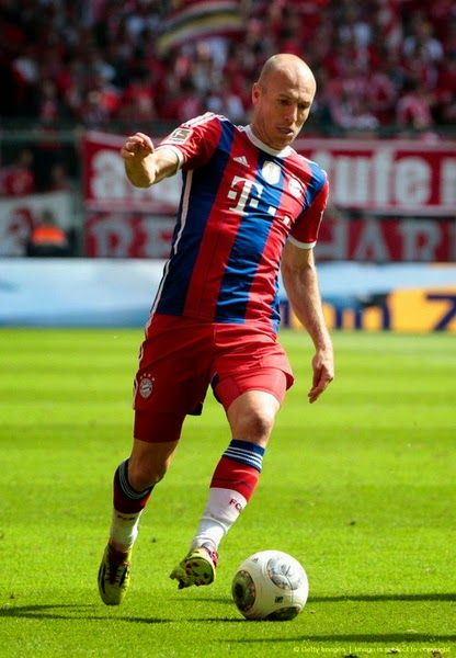 Nueva camiseta ROBBEN del Bayern Munich 2014 2015