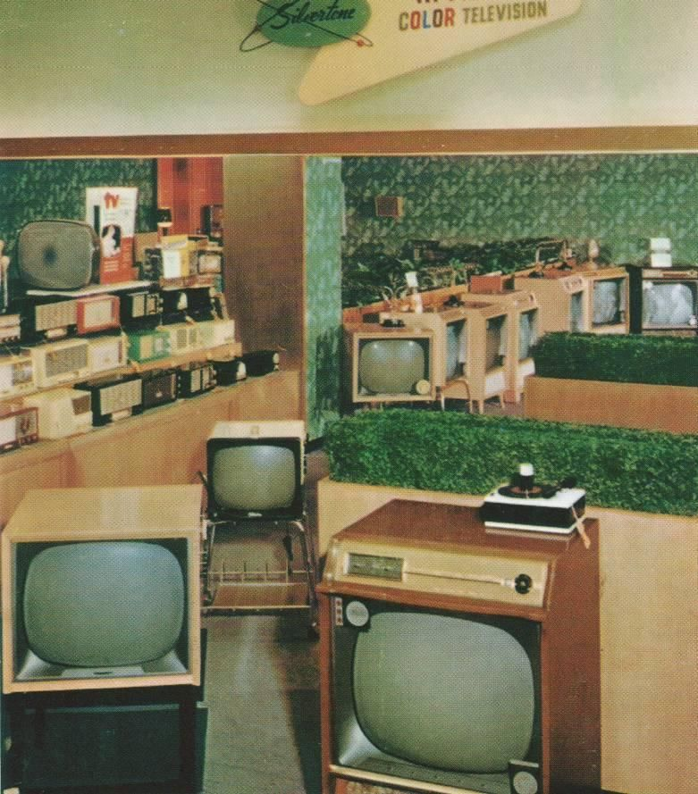 Sears Television Department, 1950's