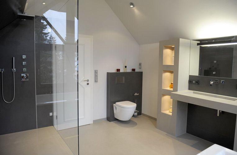 Fliesen Design Bad Einrichten Fliesen Design Badezimmer Dachgeschoss