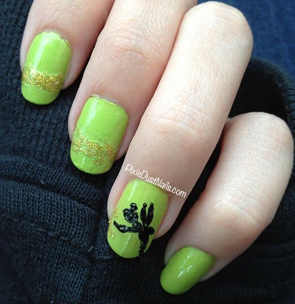 Pixie Dust Nails: Tinkerbell Nail Art | DIY Crafts, Bath and Body ...