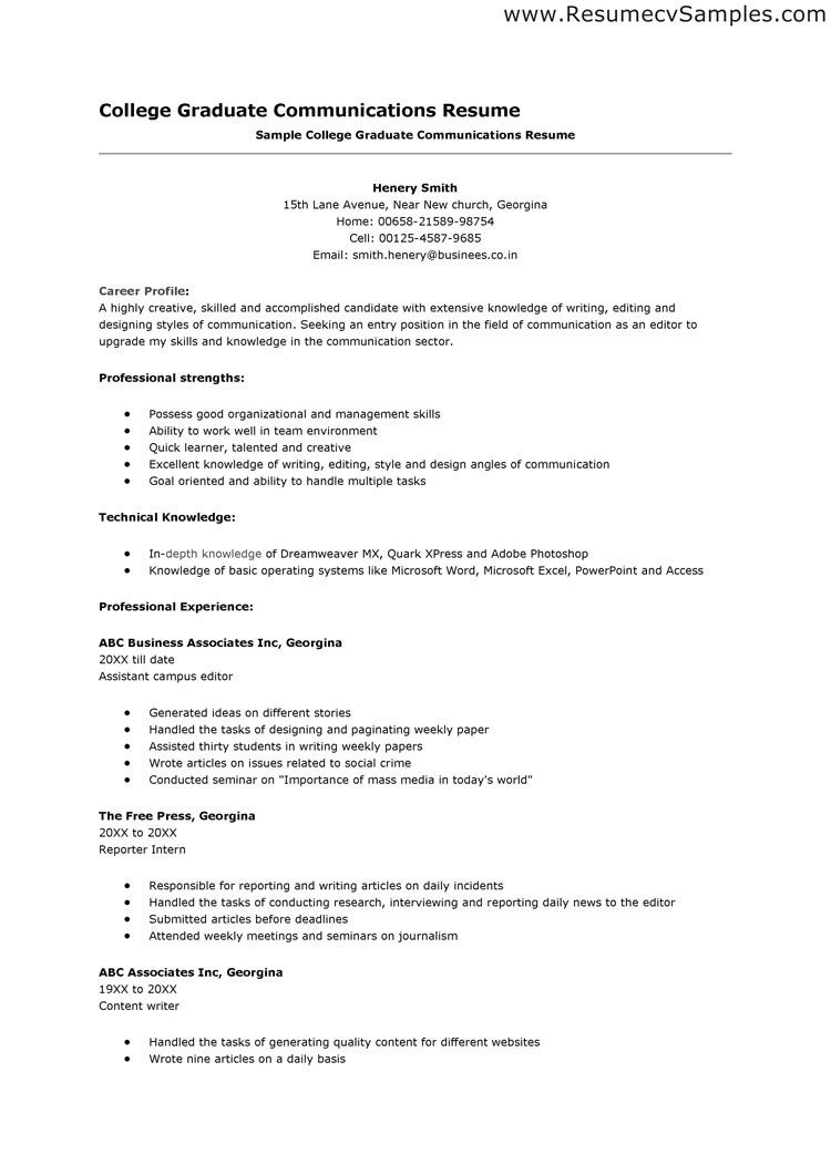 Sample Easy Resume Free Easy Resume Template Resume Template Ideas Cdc Info
