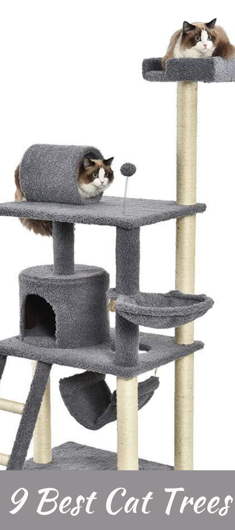 9 Best Cat Trees On Amazon 2019 Cool Cat Trees Modern Cat Tree Cat Scratching Post