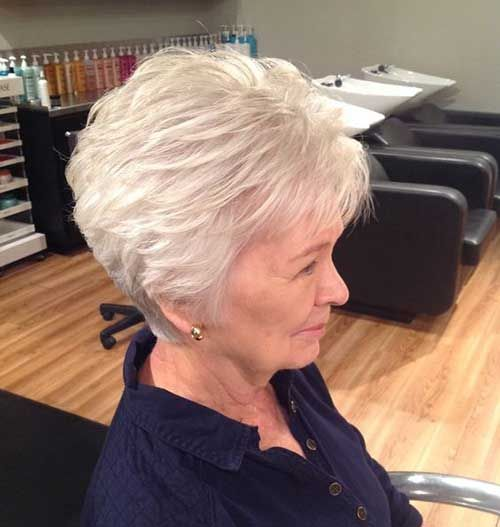 Trending 15+ Short Haircuts for Older Women - Wass Sell