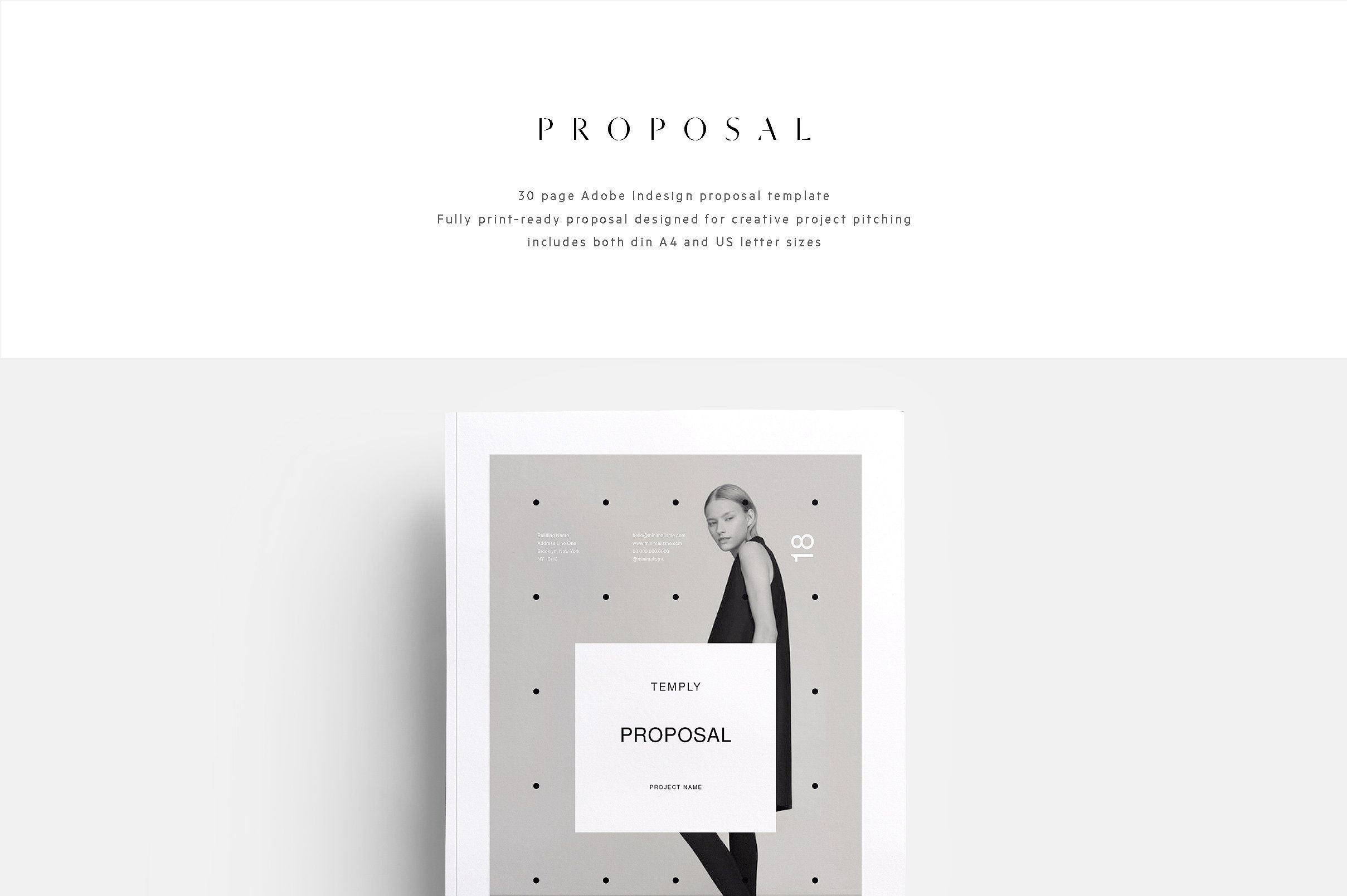 Project Proposal Brand Design Download  HttpEnvatoMarket