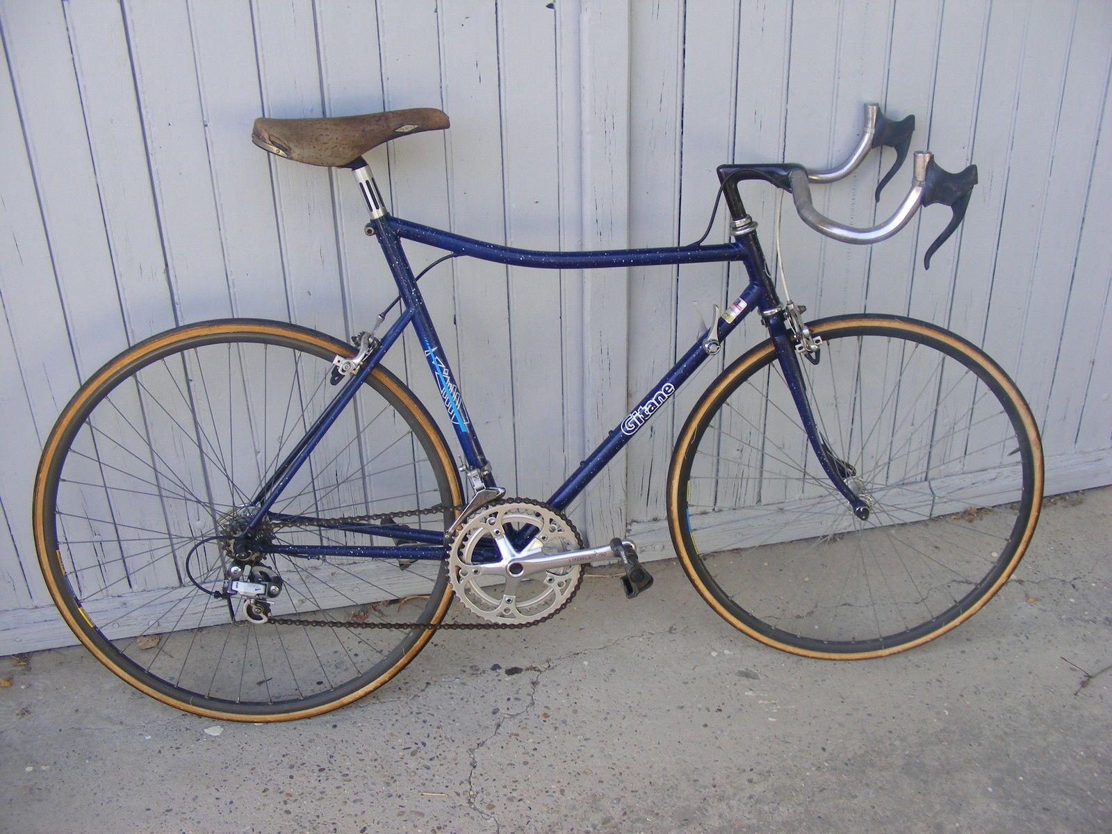 Velo Ancien Rare Course Gitane Contre La Montre Old Bike French