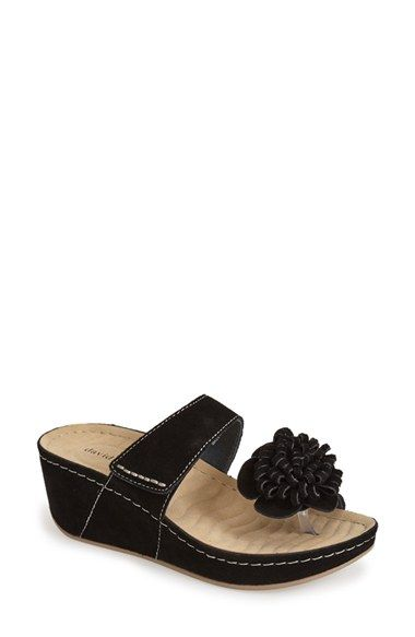 ceee202d08f David Tate  Jolly  Wedge Sandal (Women) available at  Nordstrom ...