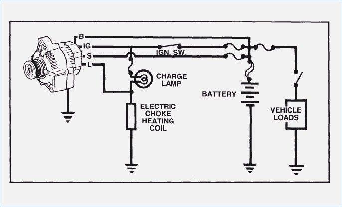 3 Wire Ford Alternator Regulator Wiring Diagram
