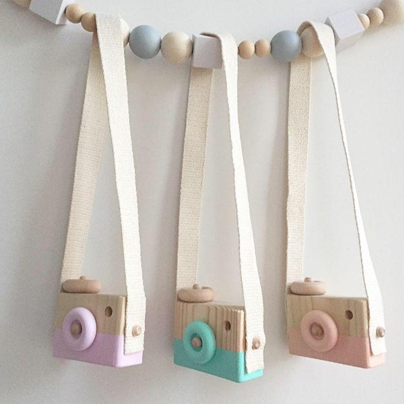 80832669b kupować Piękny Śliczne Drewniane Kamer Zabawki Dla Dzieci Dzieci Wystrój  Pokoju Nordic Styl Europejski Artykuły wyposażenia wnętrz Prezenty na  Urodziny dla ...