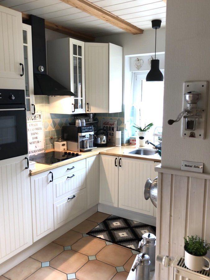 New Kitchen-Teppich SoLebIchde Foto Mutzi #solebich #küche - ideen fur wohnzimmer streichen