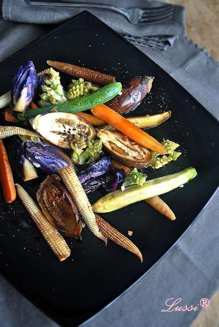 Сладко-кисели мини зеленчуци във фолио / Sweet