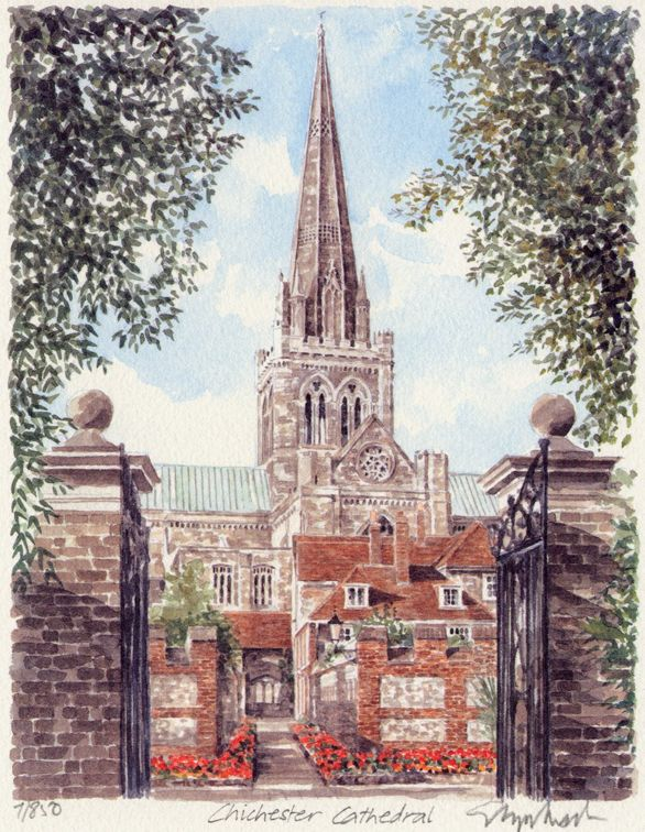 Chichester Cathedral S. - Portraits of Britain