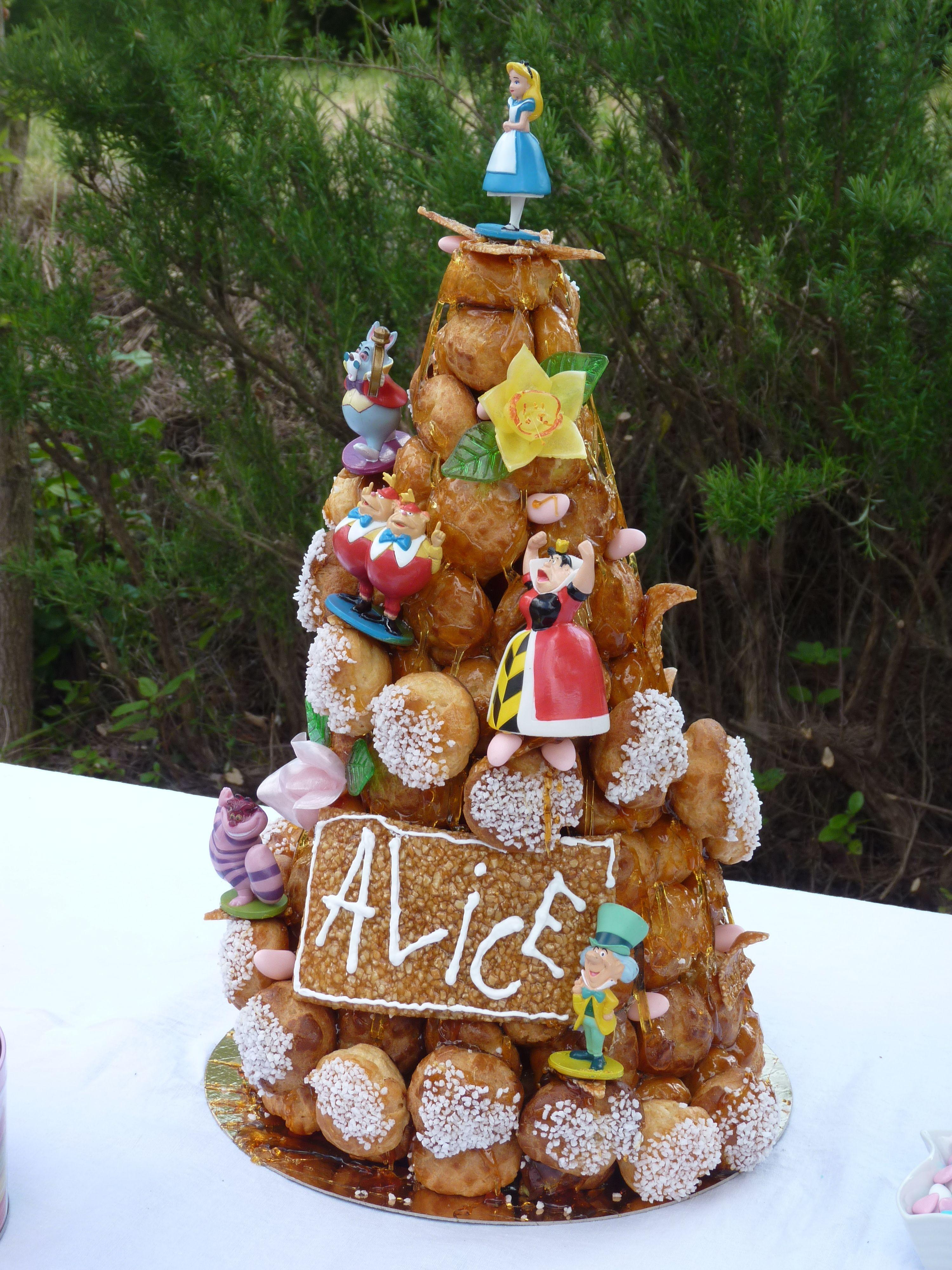 Pi ce mont e alice au pays des merveilles alice - Alice au pays des merveilles decoration ...