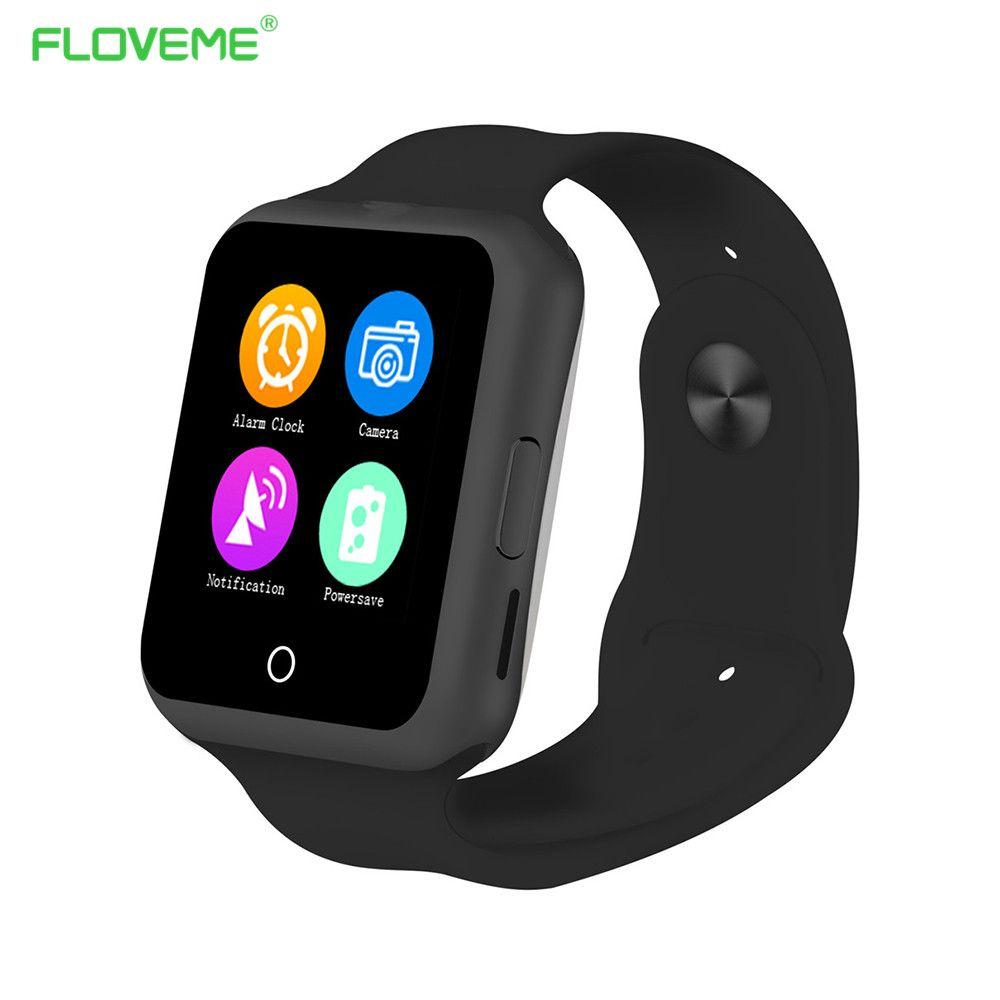 Floveme Bluetooth Smart Uhr Fur Kinder Manner Frauen Unterstutzung Android Handy Sim Karte Armbanduhren Wasserdicht Sport Uhr Smartwatch Smart Watch Iphone Smart Watch Bluetooth Watch