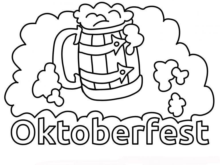 Ausmalbilder Oktoberfest Oktoberfest Ausmalbilder Ausmalen
