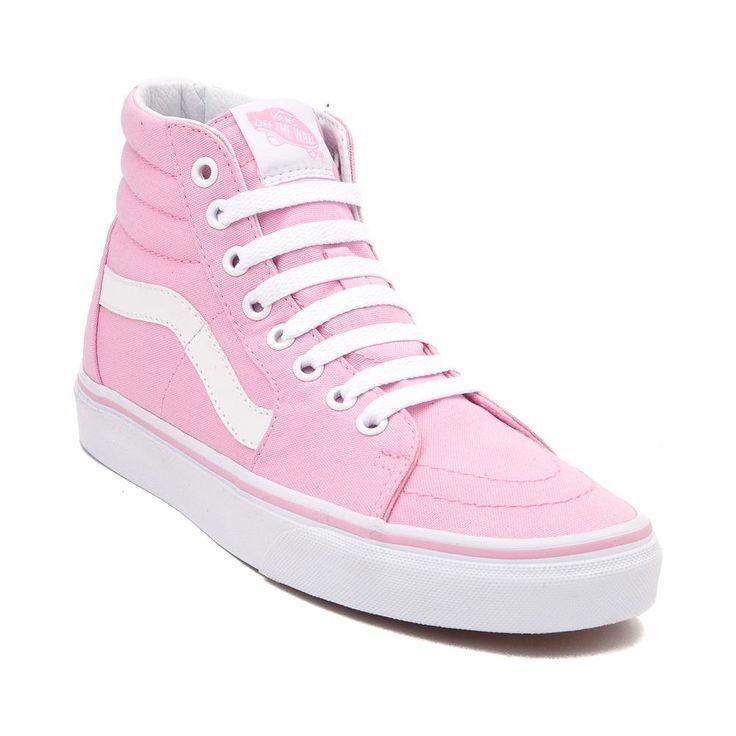 baby pink vans sk8 hi