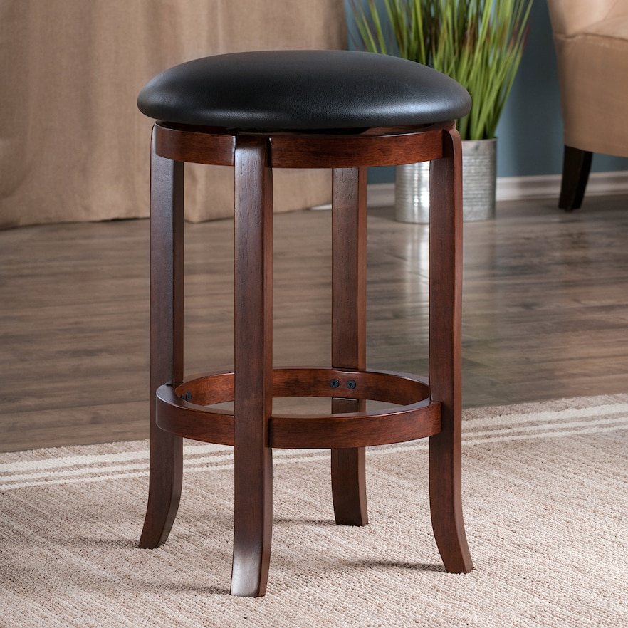 Fantastic Winsome Walcott Swivel Counter Stool Med Brown Products Pabps2019 Chair Design Images Pabps2019Com