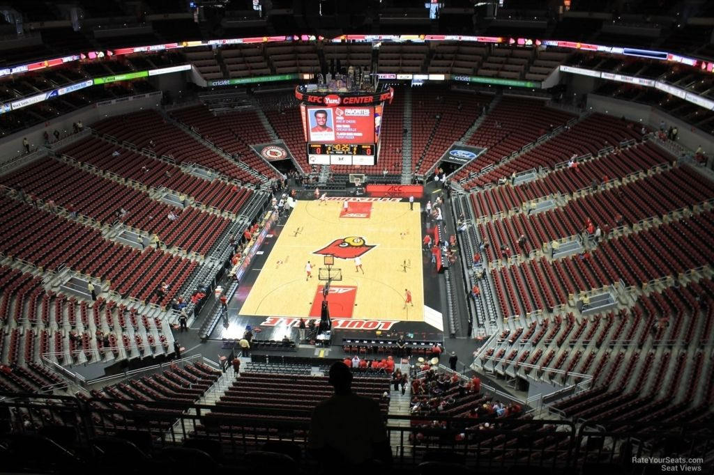 Incredible Kfc Yum Center Seating Chart With Rows