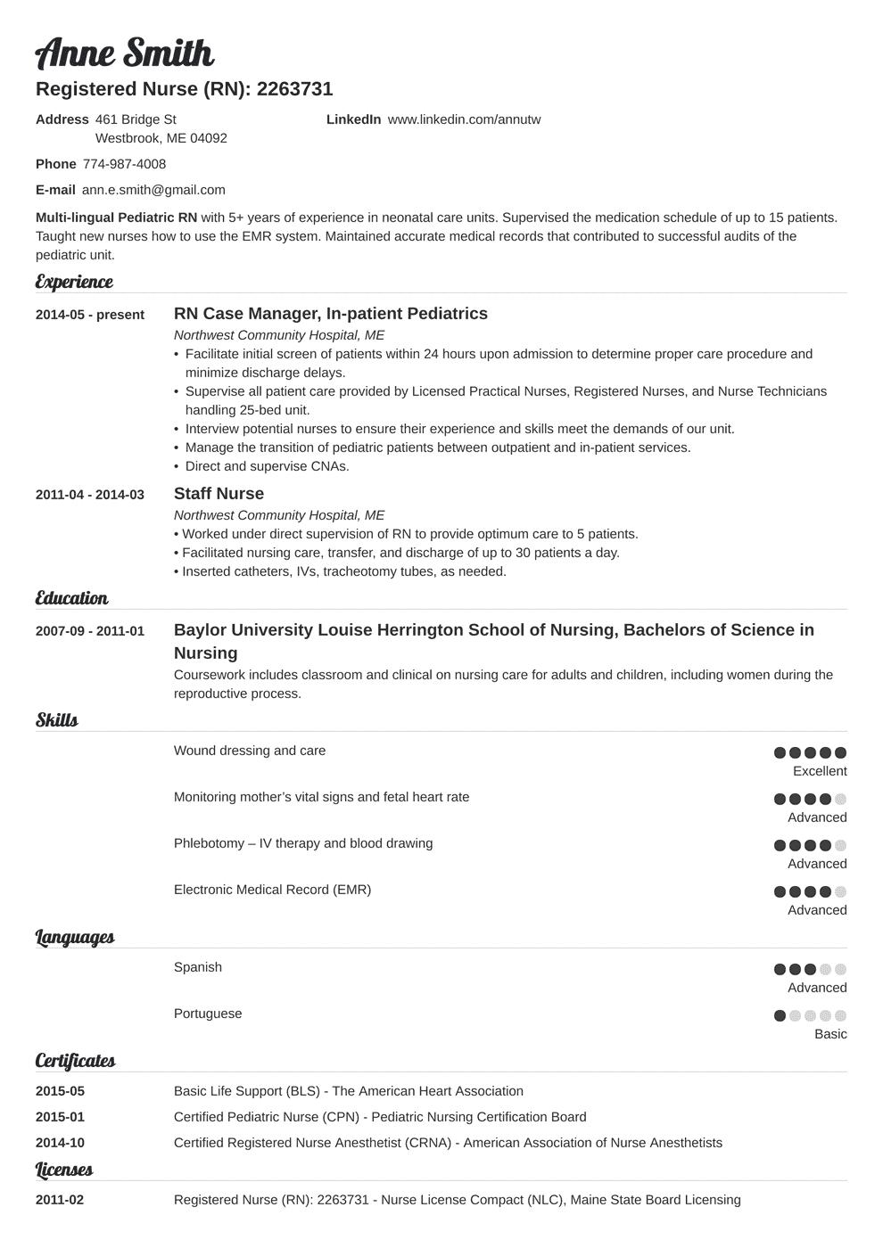 Nursing Resume Template Louiesportsmouth Com Nursing Resume Examples Nursing Resume Template Registered Nurse Resume