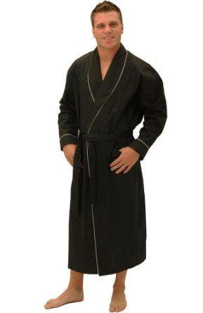 c8f490777a Del Rossa Men s Cotton Robe Bathrobe