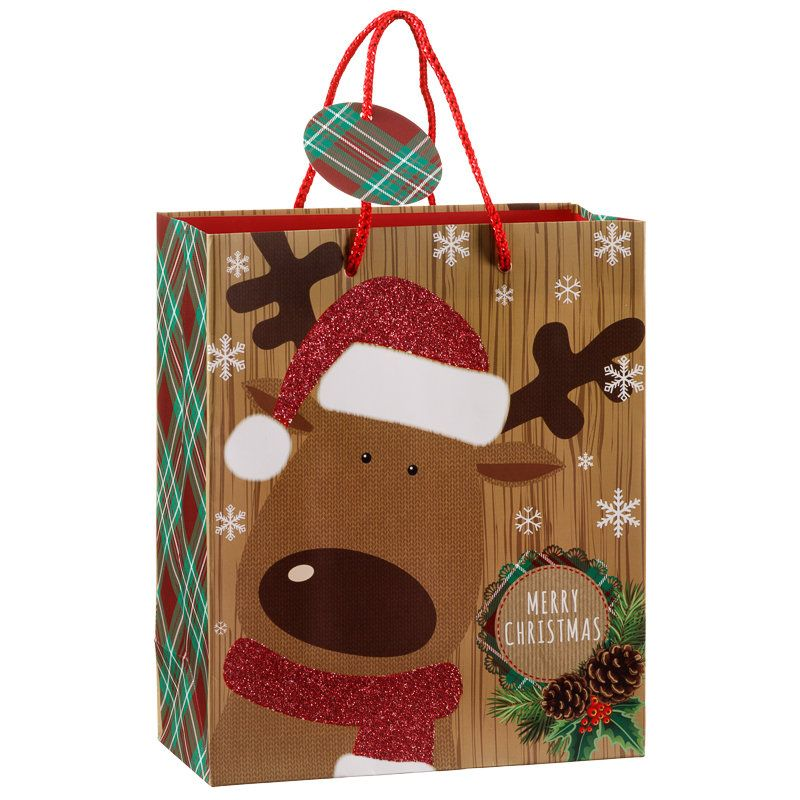 Medium Novelty Christmas Gift Bags Have a fun Christmas with these