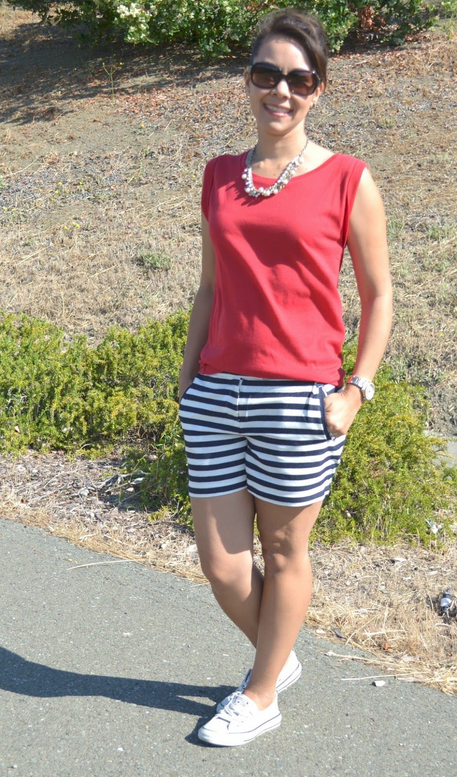 Create28~Day13: Summer Nautical Look - A Lovely Little Wardrobe