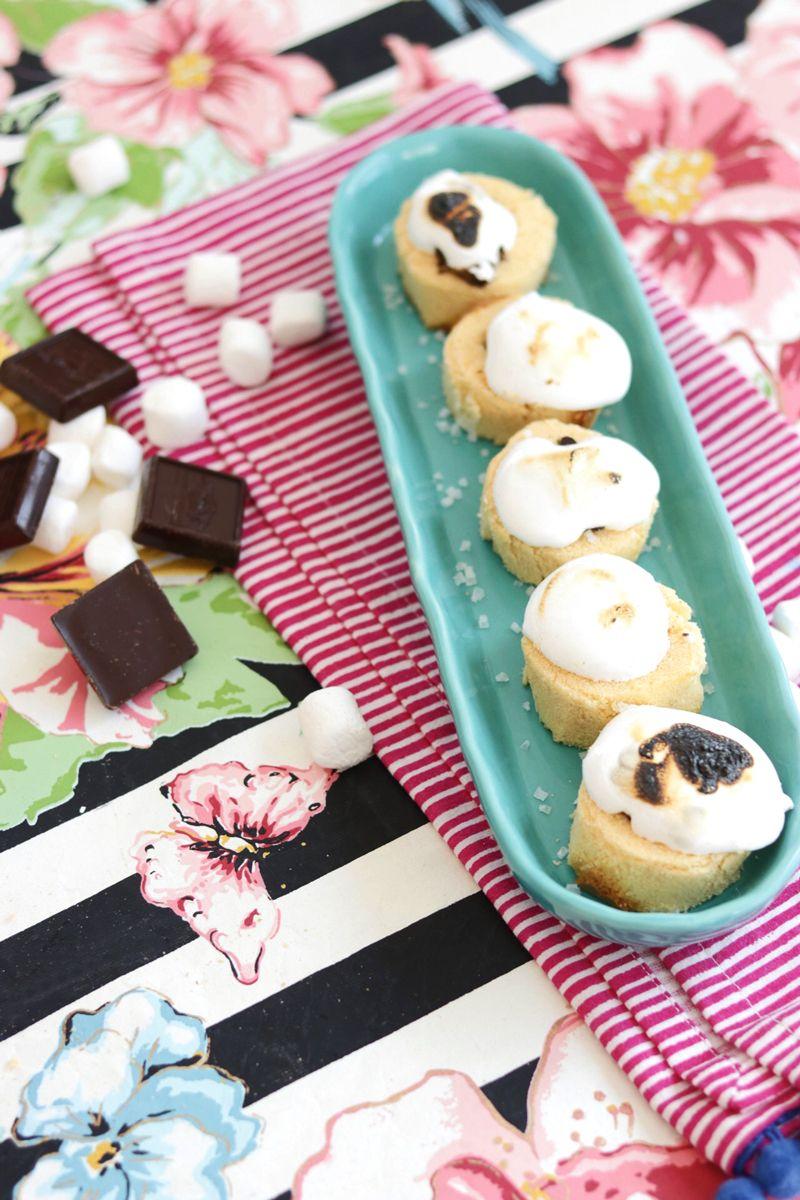 Caramel sea salt smores cups recipe delicious cookie