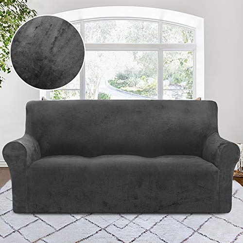 Rhf Velvet Sofa Slipcover Stretch Couch Covers For 3 Cushion