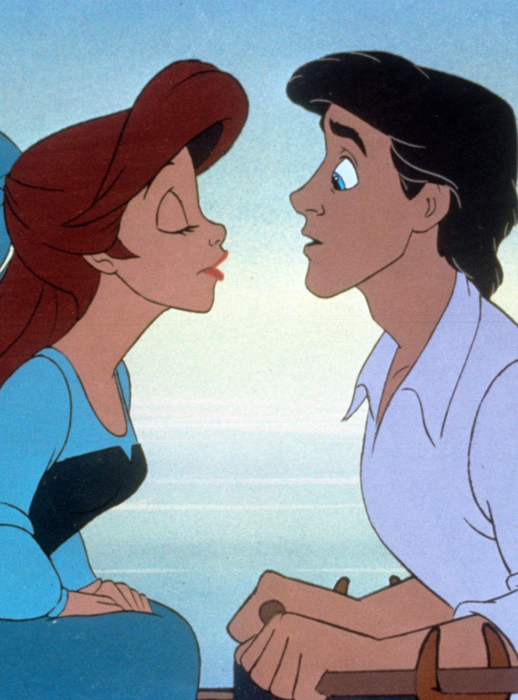 mine disney the little mermaid ariel prince eric