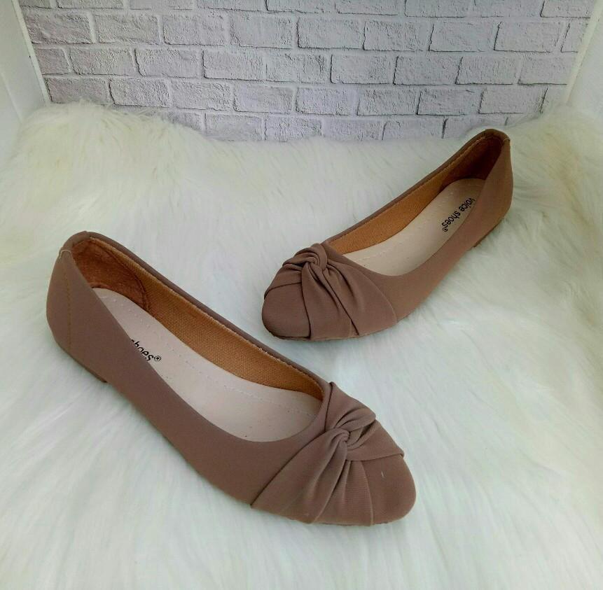89 Gambar Model Sepatu Wanita Balet Kekinian Model Sepatu