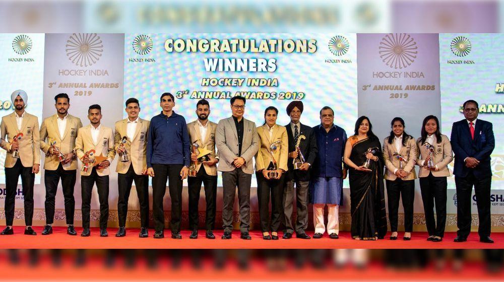 Manpreet Singh, Rani Rampal earned top honours in the 2019