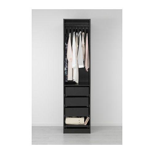 PAX Kleiderschrank - 50x60x201 cm, Scharnier - IKEA Pax Schrank - ikea schrank schlafzimmer