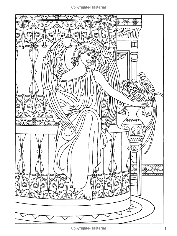 Angels Coloring Book Dover Coloring Books Marty Noble 9780486467757 Amazon Com Books Coloring Books Angel Coloring Pages Coloring Pages