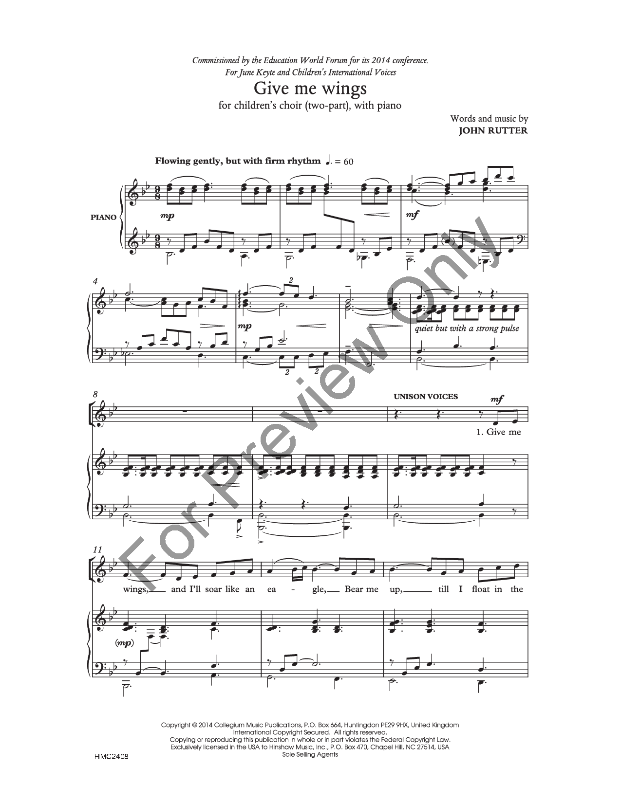 5 copies Warm-Ups and Workouts for the Developing Choir Vocal and Piano Cho I