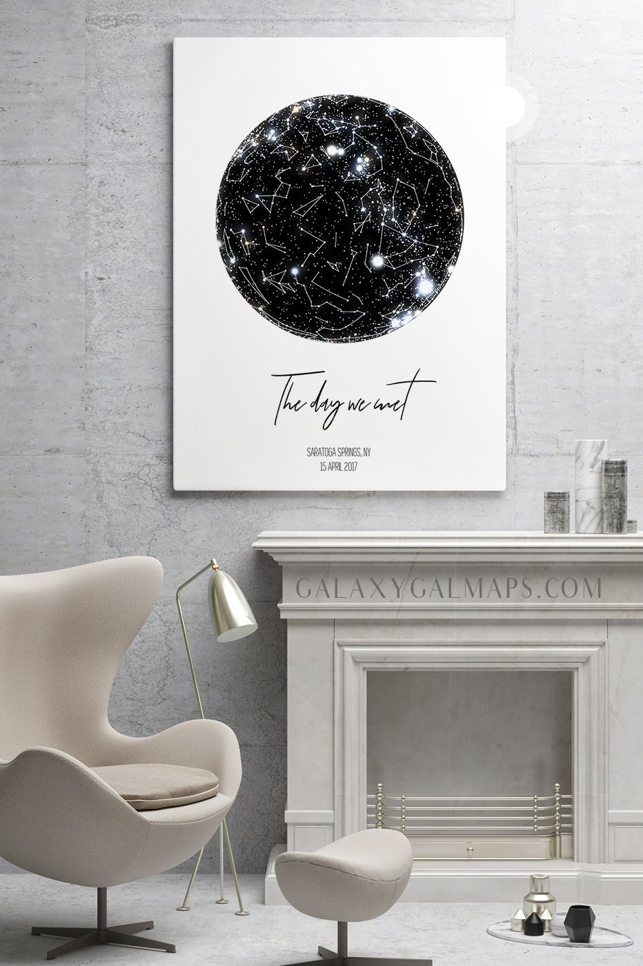 Unique Sky Map For Your Date Custom Star Map Wall Art Office Decor Baby Boy Nursery Abstract Canvas Art Xmas Wal Nordic Art Star Map Chalkboard Wall Art