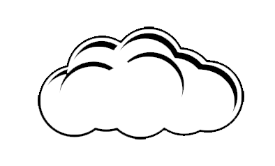 Cloud Outline Cloud Outline Cloud Drawing Clouds