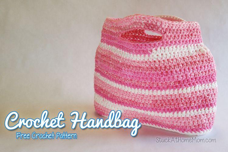 My Sweet Crochet Handbag Pattern #FreePattern