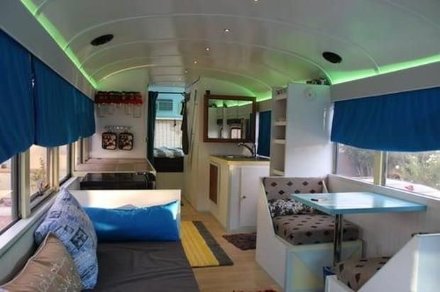 Image result for bed size skoolie  Skoolie  Bus house