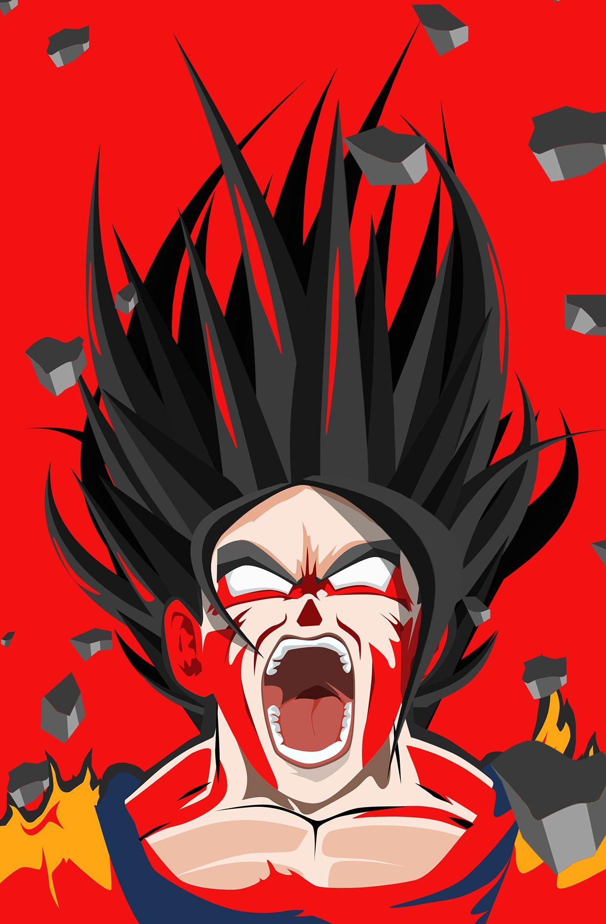 Rage Series by Kode Logic Goku Dragon ball goku