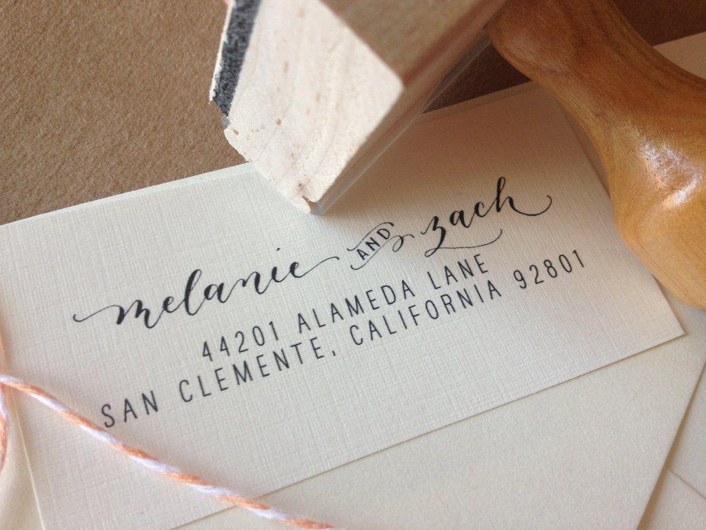[custom_stamp] angeliqueink Custom address stamp