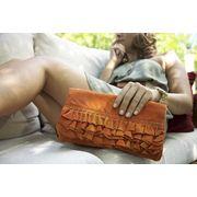 love the orange leather!
