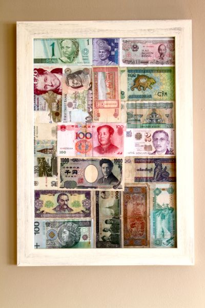 The Foreign Money Jar Gets Some Inspiration Arts And Crafts -