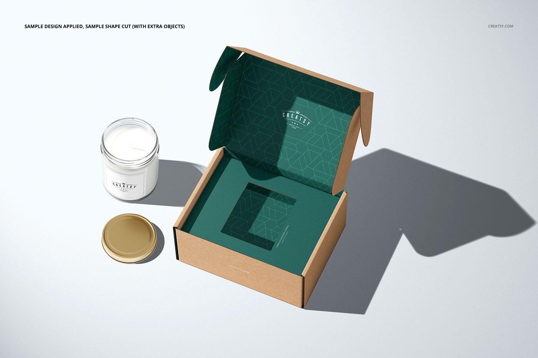 Download Insert Tray Mailing Box Mockup Set Box Mockup Box Template Mockup