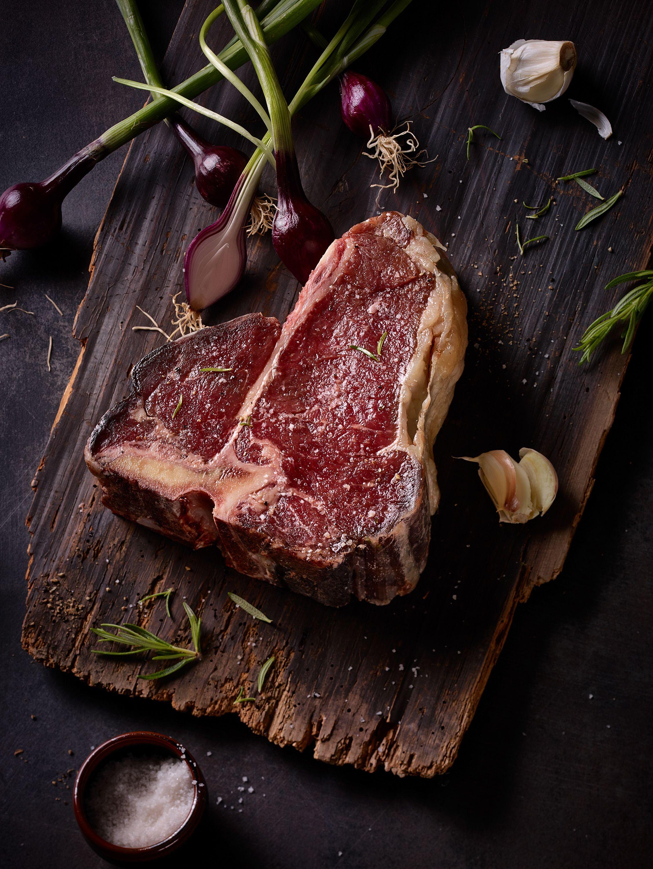dryaged t-bone steak