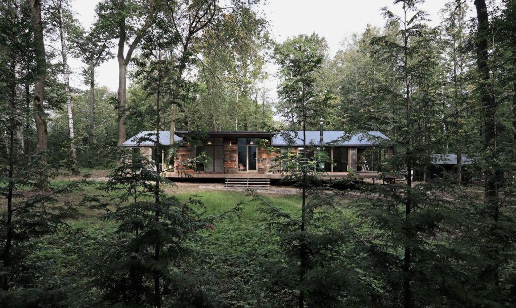 Beautiful cabin pops up in ten days with minimal landscape disturbance | Inhabitat - Green Design, Innovation, Architecture, Green Building