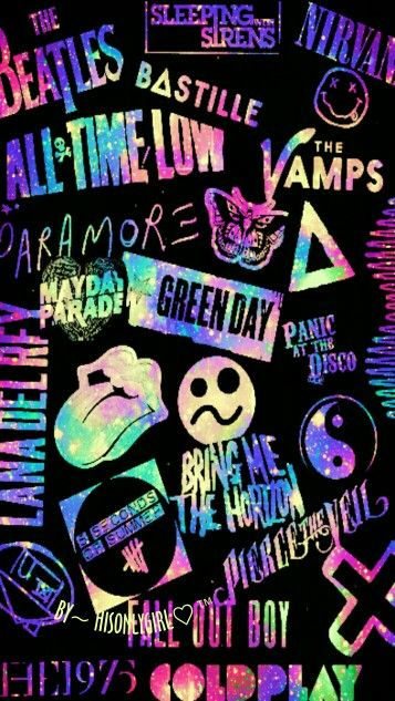 Battle Of The Bands Galaxy Band Wallpapers Emo Wallpaper Neon Wallpaper