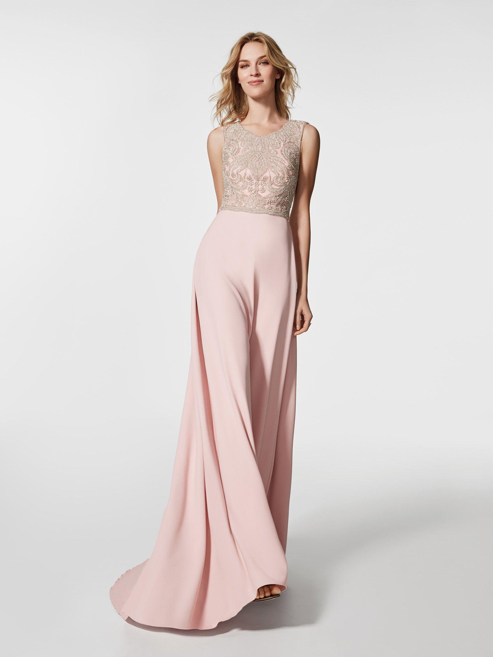 Modelos de vestidos de fiesta con pedreria