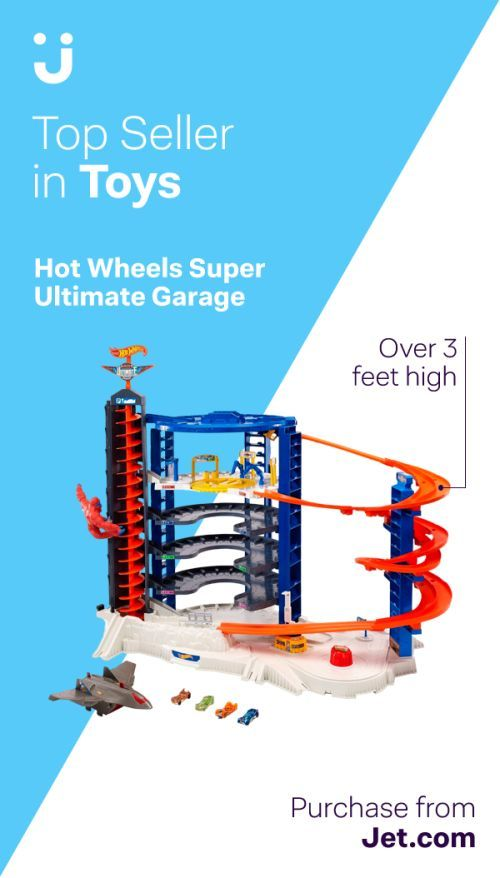 The Super Ultimate Garage Is The Biggest Hot Wheels Playset Ever