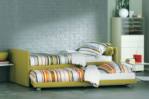 Camerette Per Ragazzi Flou.Contemporary Trundle Bed Duetto Flou Available At Domus In Atl