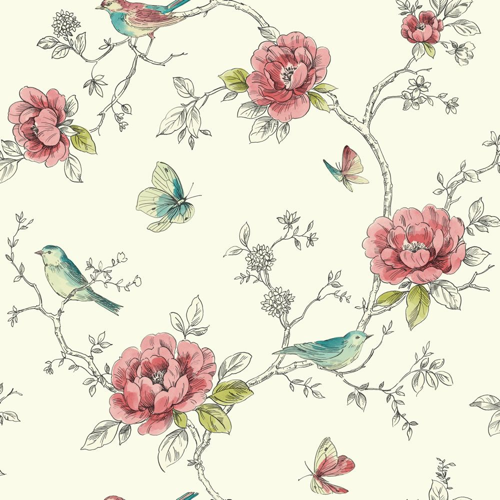 Arthouse Wallpaper Adorn Red And Teal Teal Wallpaper Wallpaper